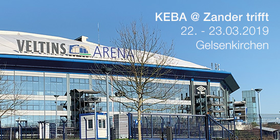 We are in the VELTINS Arena! Come and visit our electric mobility team at the KEBA stand M-057 inside the stadium.