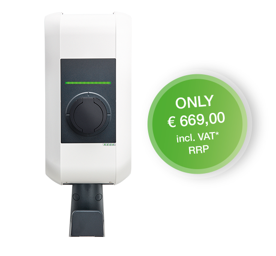 Anniversary wall box with cable holder without charging cable only € 669,00 incl. VAT. RRP