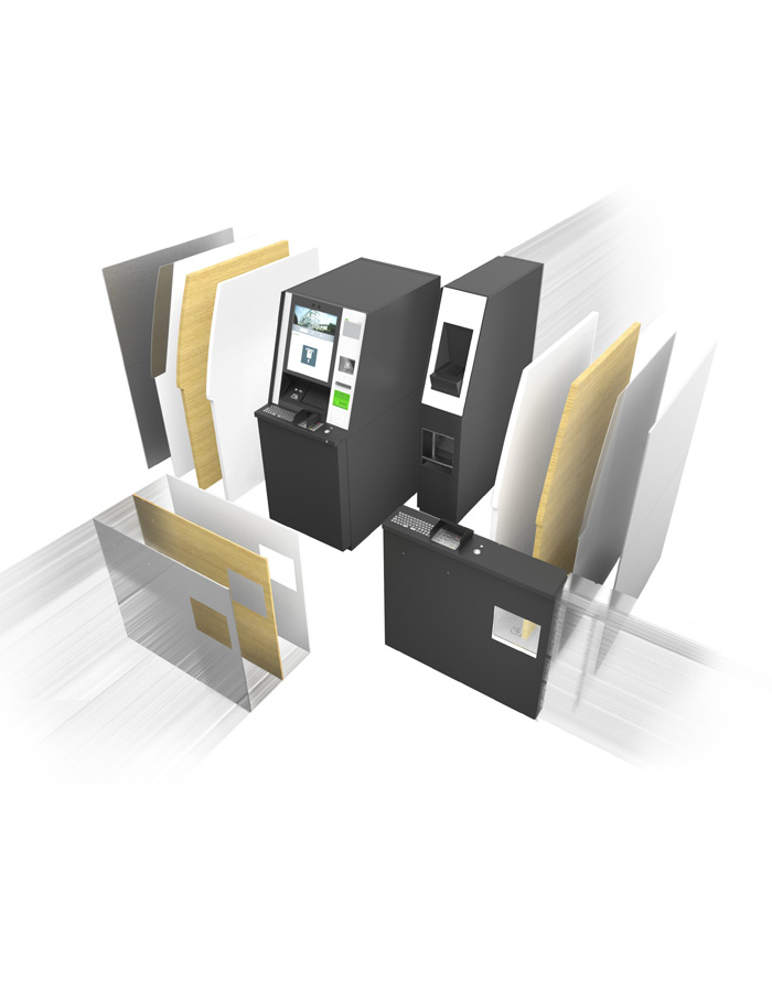 KePlus F-Line ATMs of the evo series can be functionally extended at any time in the life cycle.