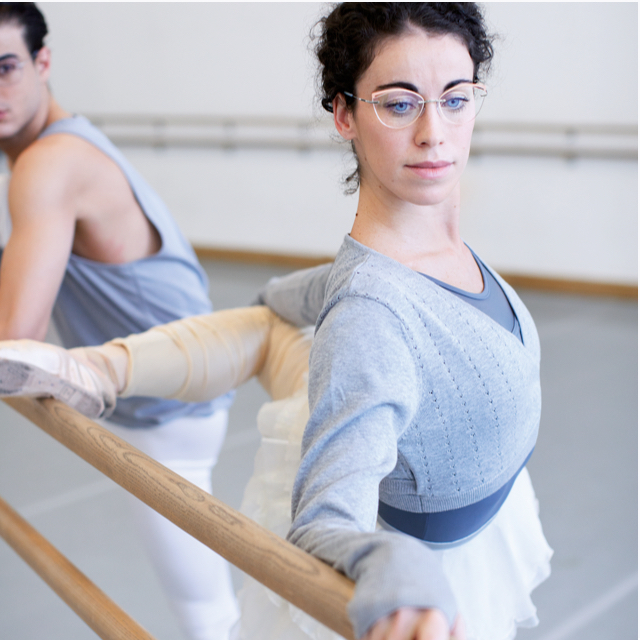 Two ballet dancers wearing TMA - The Icon. Accent Rings