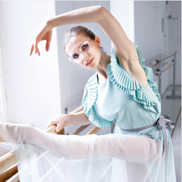 Ballerina wearing TMA - The Icon. Accent Rings