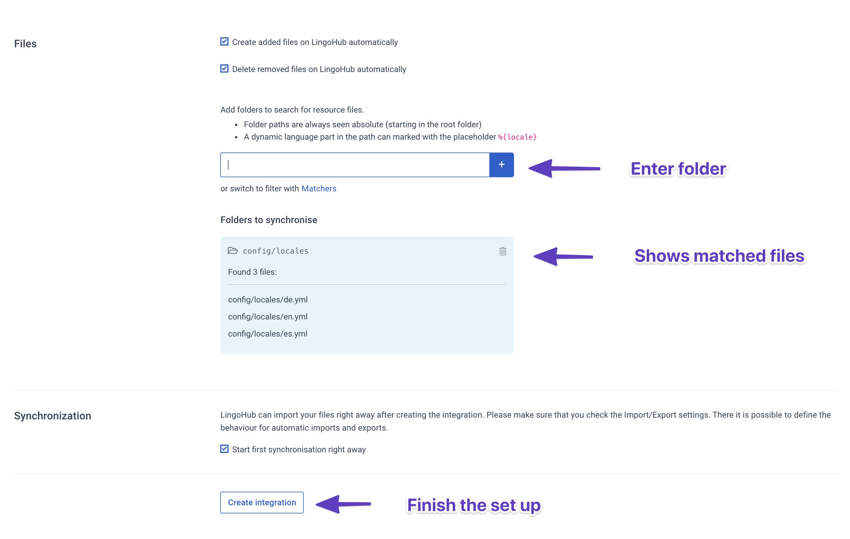 Finish GitHub setup