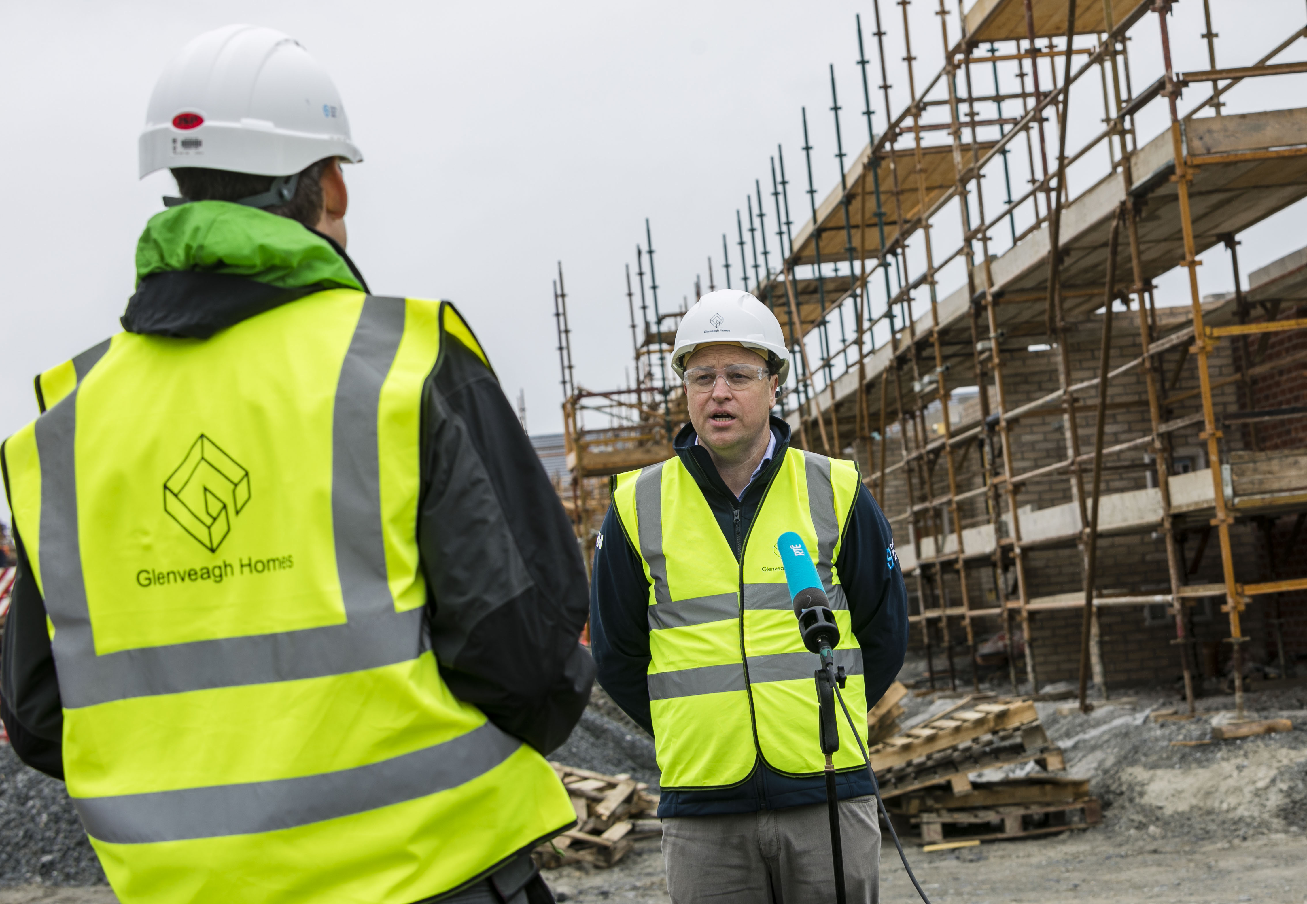 Glenveagh Properties plc begins to reopen Construction sites.