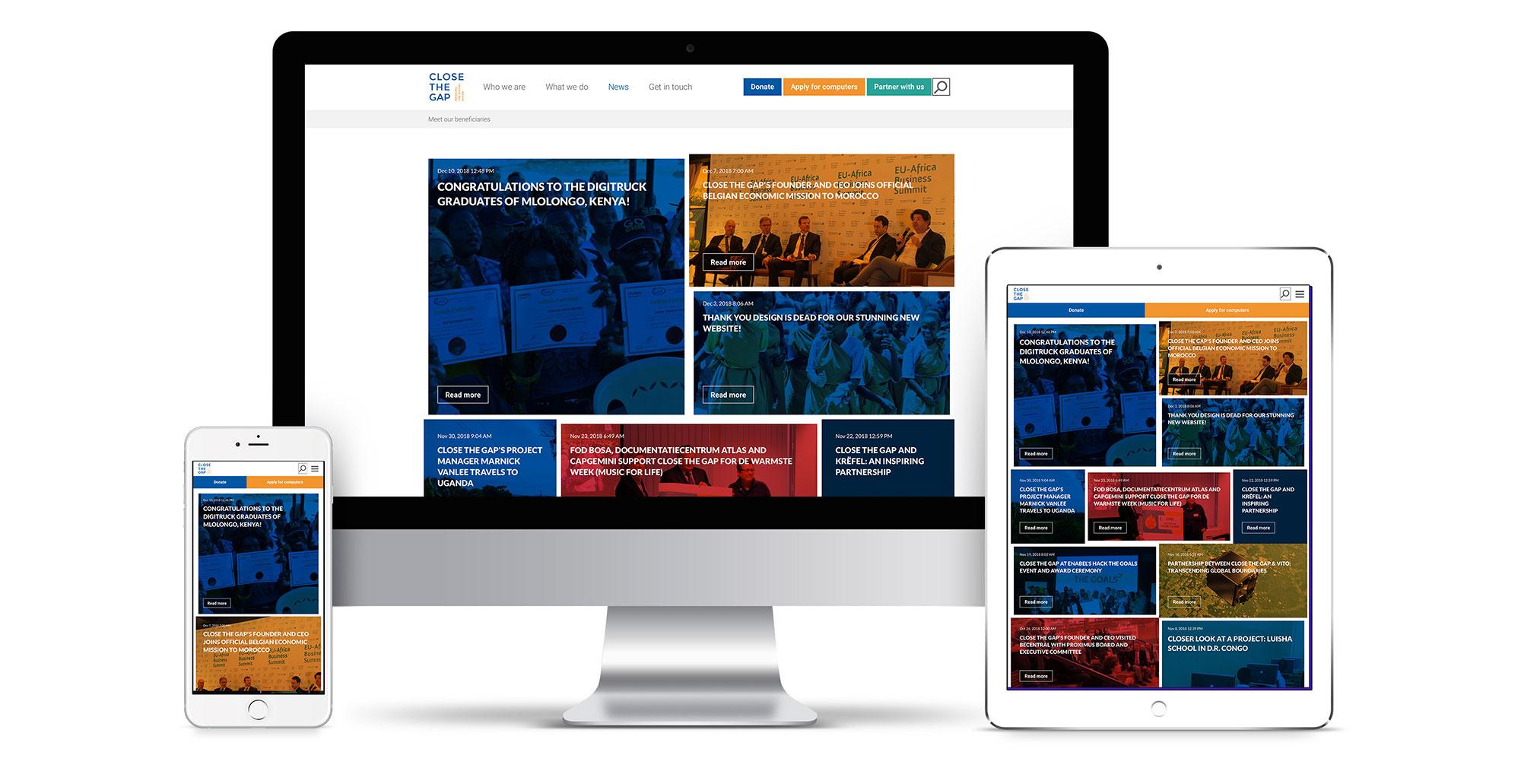 utförsäljning låg kostnad höstskor New Close the Gap website bridges the digital divide with Design ...