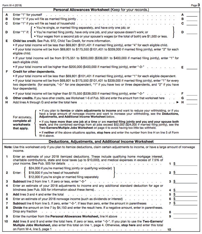 Publication 919  How Do I Adjust My Tax Withholding   Adjusting Your together with W 4 Personal Allowances Worksheet Cleverwraps  Illinois Withholding moreover How to Fill Out a W 4 Form   GoCo io likewise Publication 505  Tax Withholding And Estimated Tax  Tax  W 4 additionally W4 Form Worksheet Form Worksheet Medic W Instructions How Fill How further FORM W 4  2019 further How Do I Fill out Form W 4  Step by Step Guide to Your additionally A Beginner's Guide to Filling out Your W 4 moreover W 4 Form  How to Fill Out a W 4 Form  Investopedia furthermore Tips for Allowances and Preparing Form W 4 together with Answers to  mon IRS W 4 Form questions further How to Fill out a W 4 2019 moreover How And Why To Adjust Your IRS Tax Withholding   rate also exemption worksheet – kakoo info furthermore  as well W 4 Form  How to Fill Out a W 4 Form  Investopedia. on w 4 personal allowances worksheet