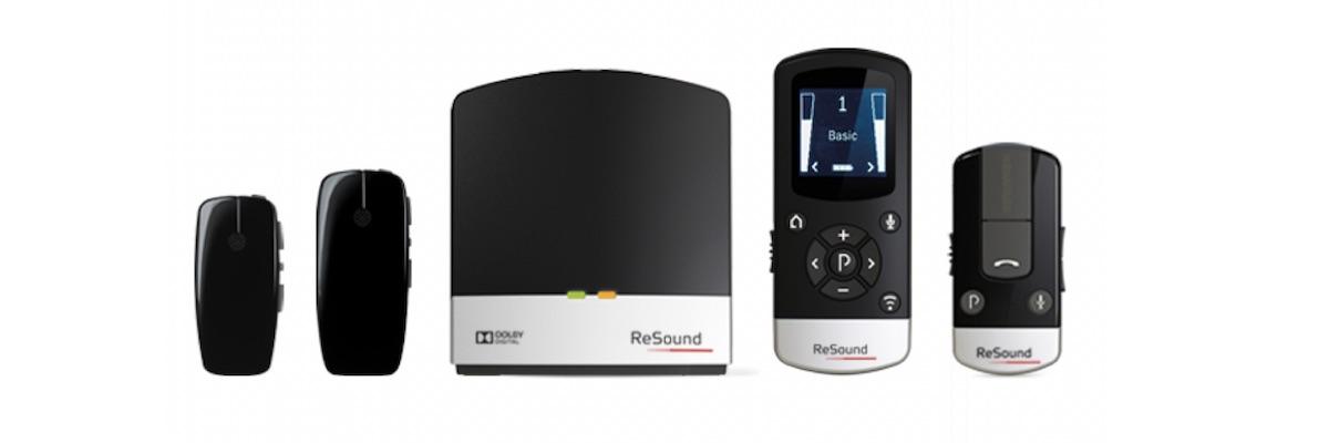 Accesorios para audífonos resonantes