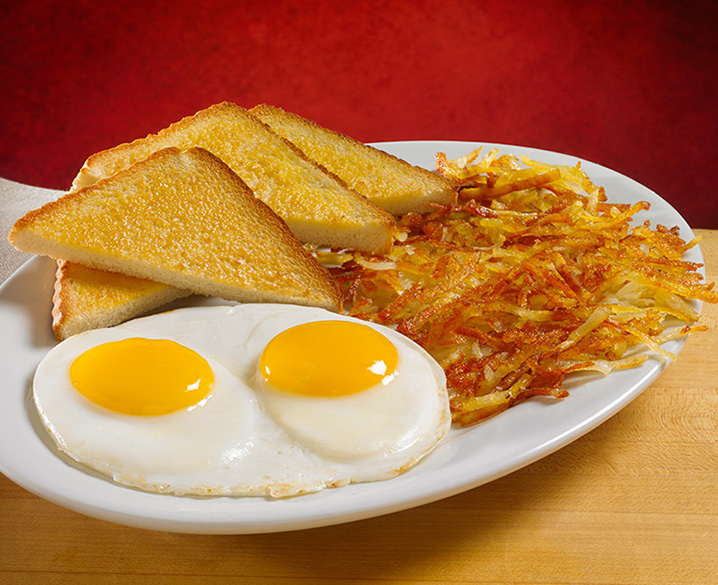 Two-Egg Breakfast