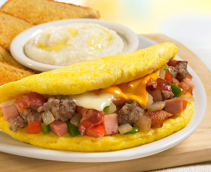 Meat Lovers Omelet