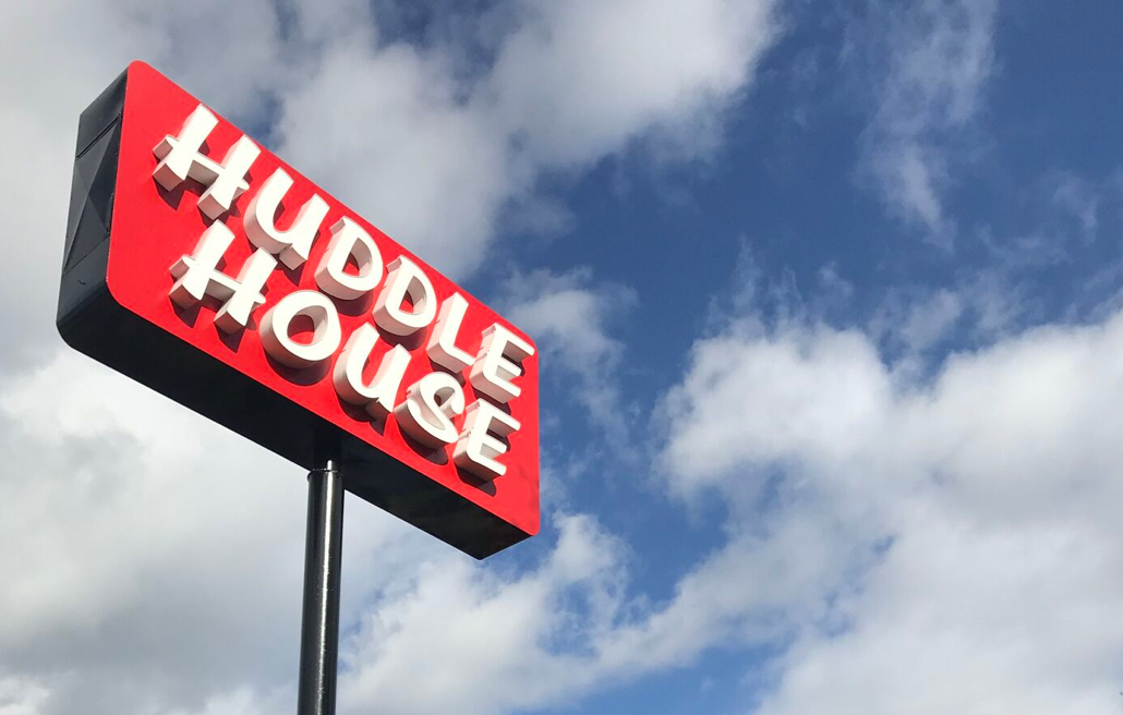 Huddle House Sign