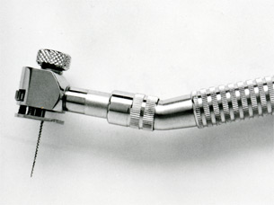 "File contra-angle handpiece ""Racer"