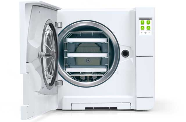 Easy upgrade to a B type sterilizer according to EN 13060.