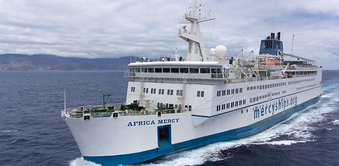 W&H - W&H presta apoyo a la organización Mercy Ships