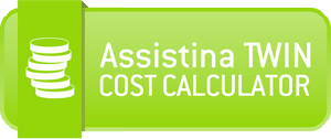 Assistina TWIN Cost Calculator