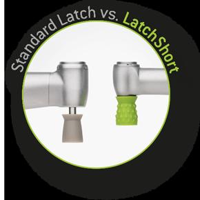 Il nuovo sistema di lucidatura Proxeo TWIST LatchShort vs. il sistema Latch standard
