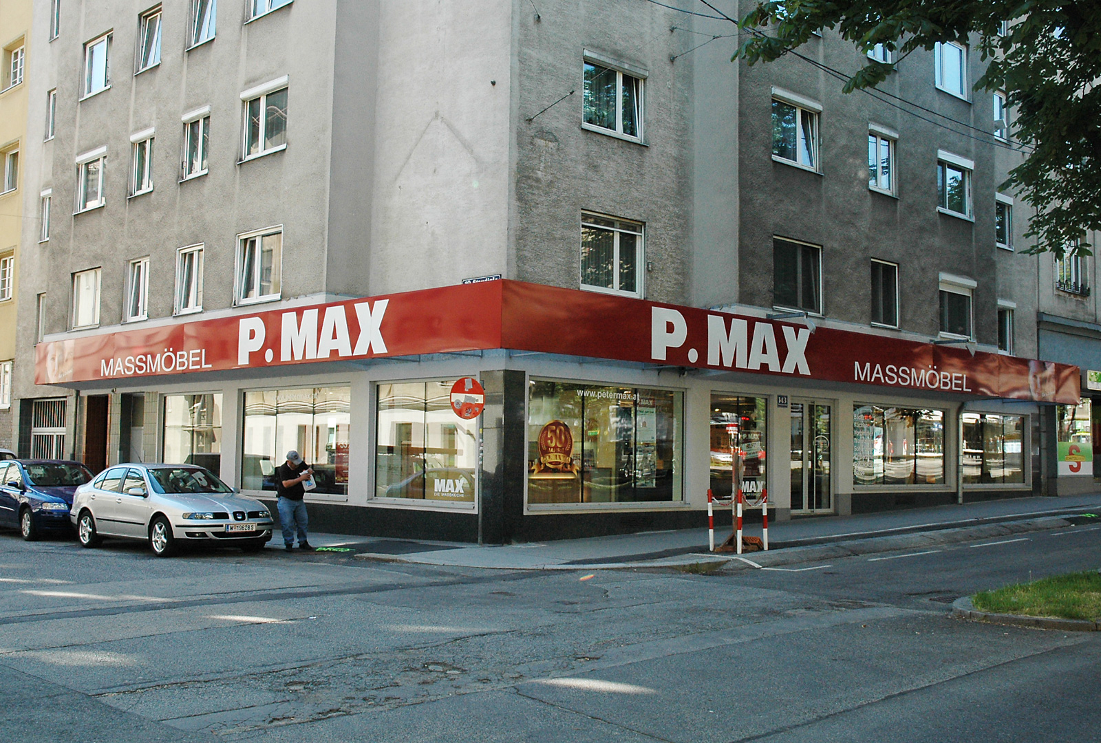 Pmax Filiale 1100 Wien Pmax Maßmöbel