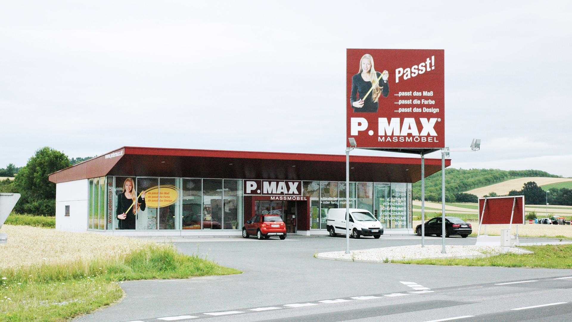 Pmax Filiale 7501 Unterwart Pmax Maßmöbel