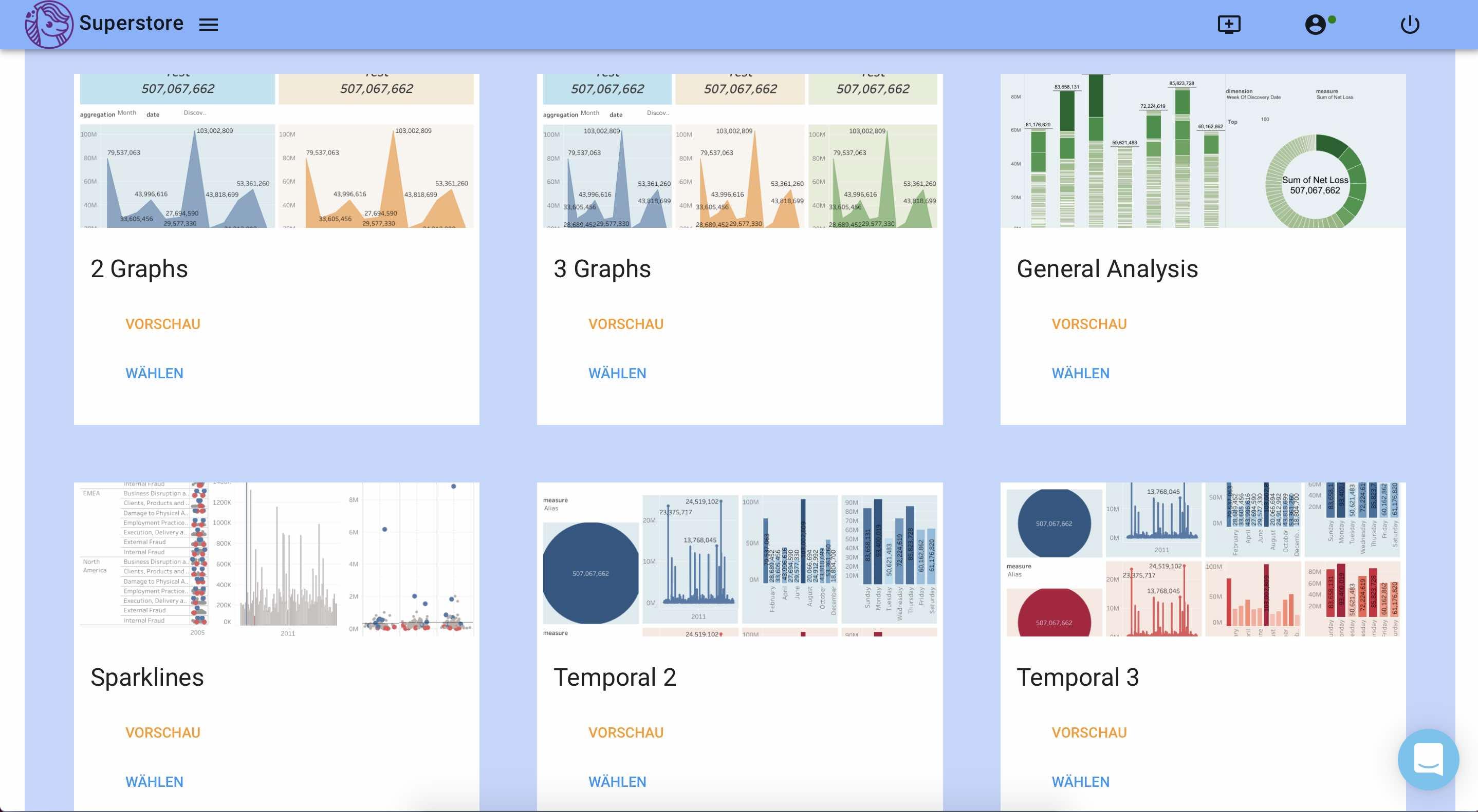 Automatische Dashboards mit Datapony erstellen