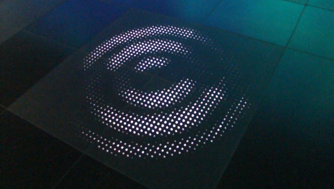 Back-lit Terrazzo Tiles