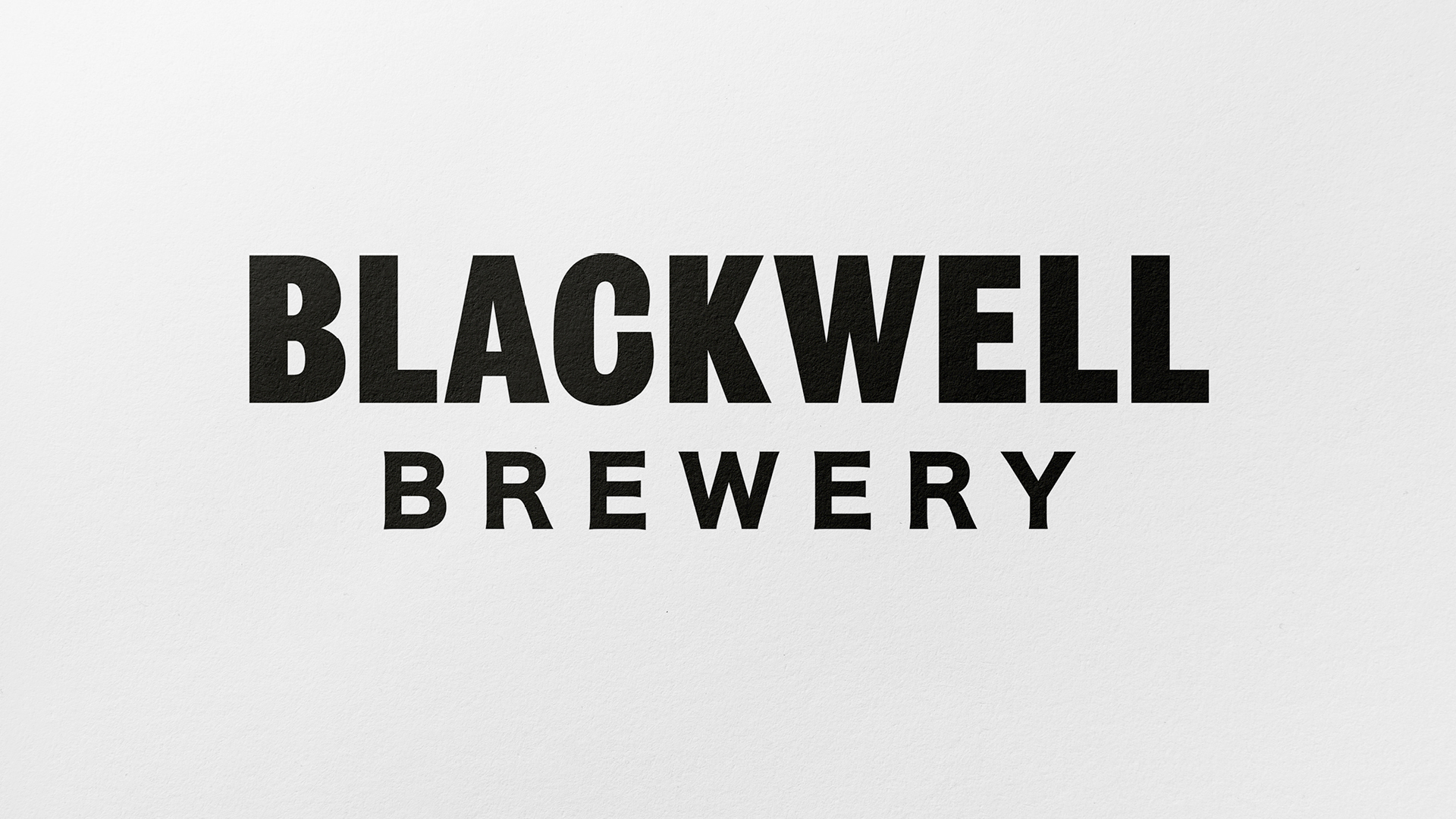 BLACKWELL BREWERY