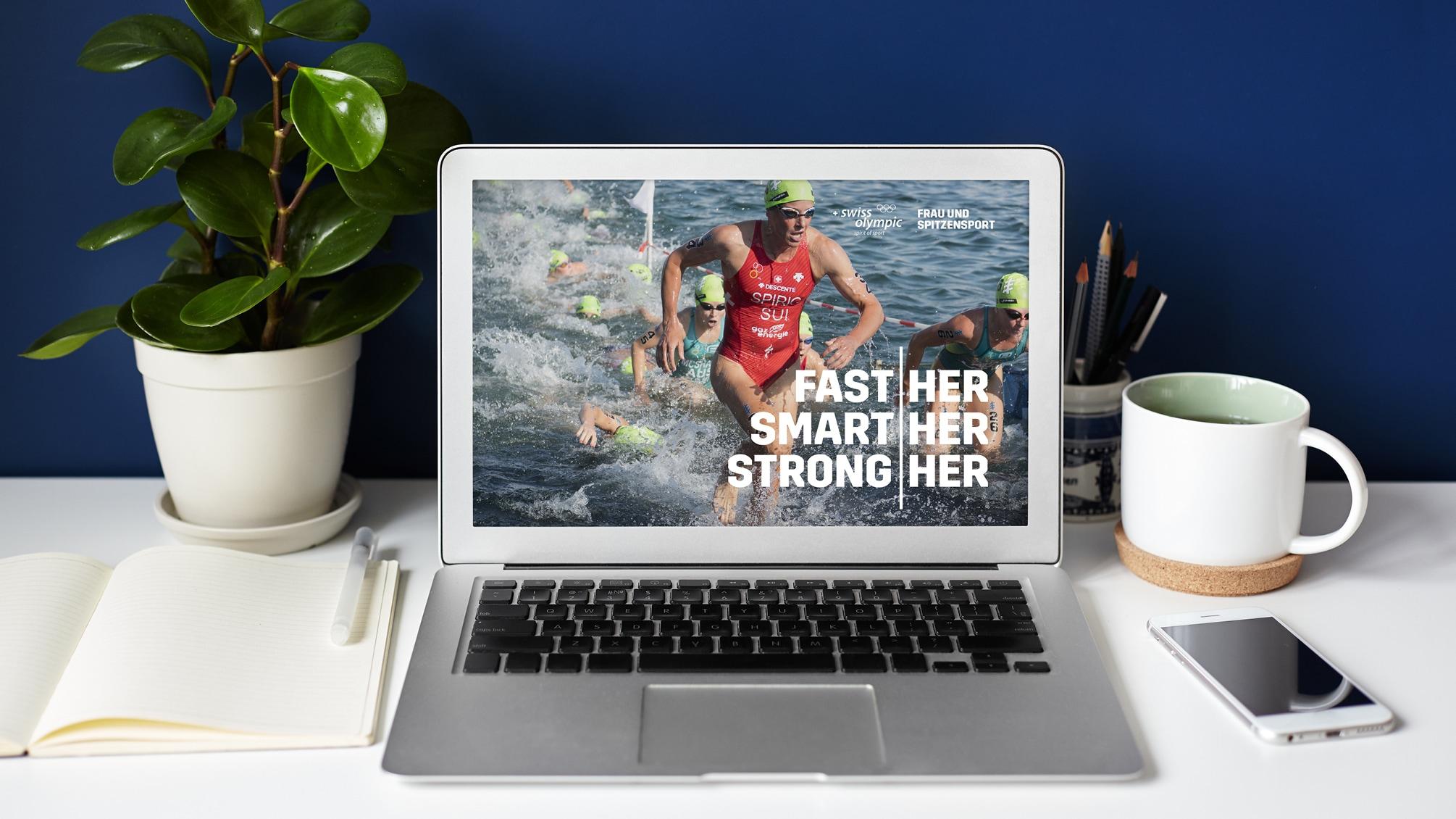 Swiss Olympic – Frau und Spitzensport