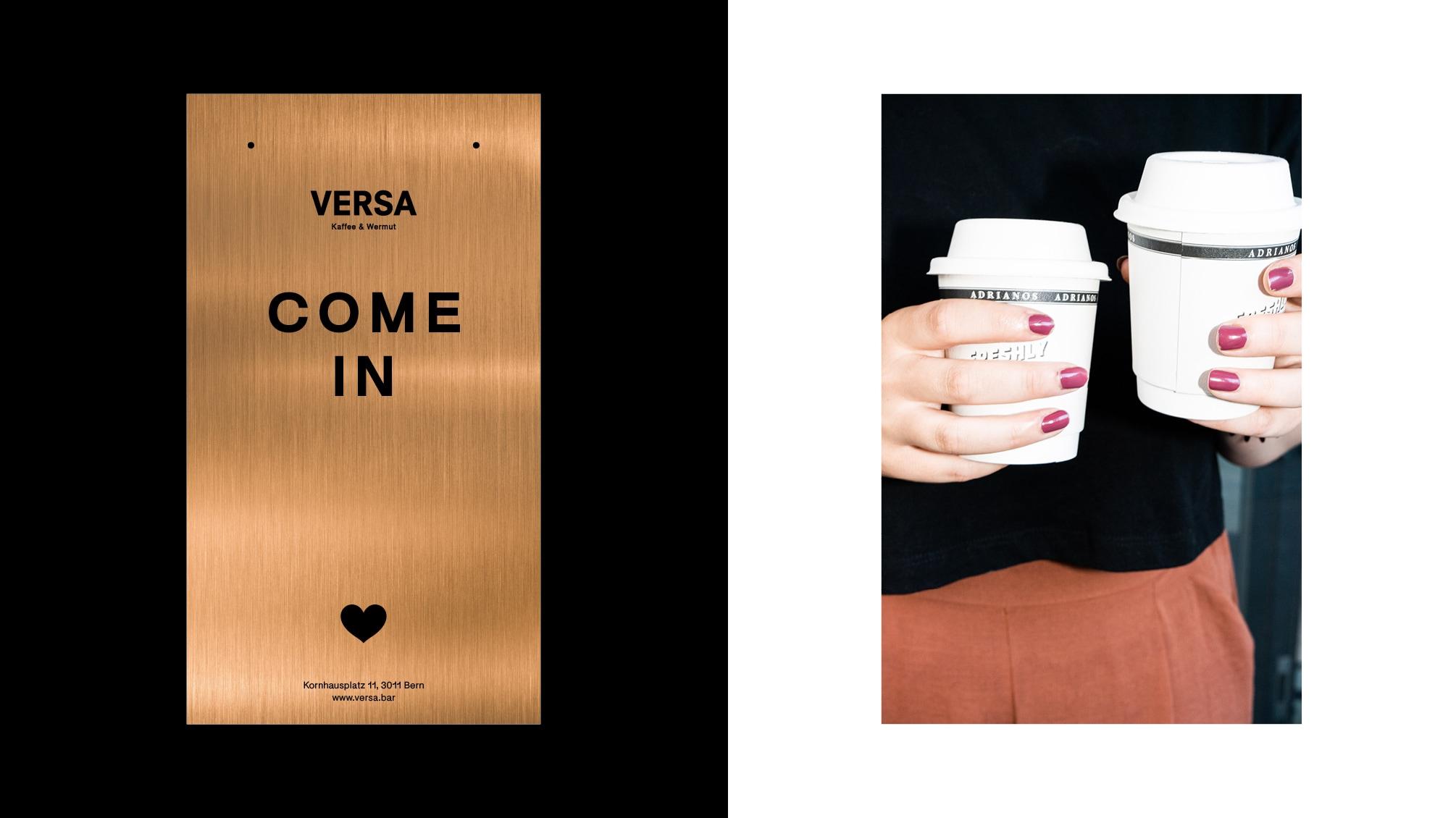 VERSA Kaffee & Wermut