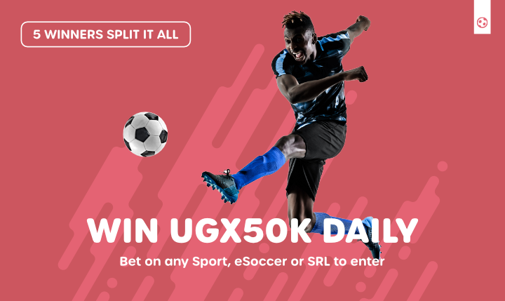 Daily UGX 50K Giveaway is BACK!