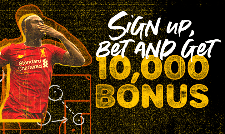 First Bet Bonus of  up to 10,000 for new users