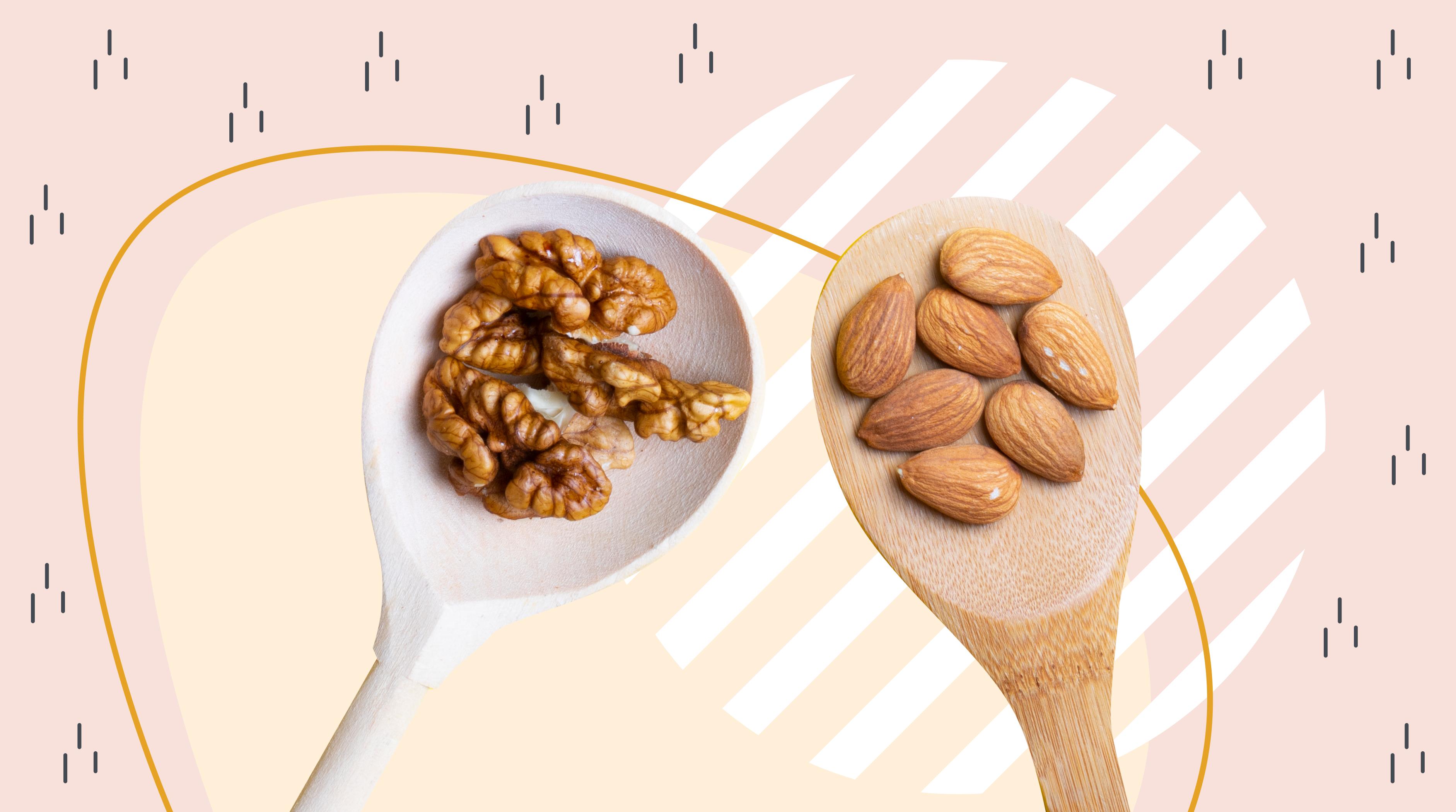 Миндаль хорош для снижения веса, а грецкий орех — для здоровья мозга. Несколько причин добавить эти продукты в свой рацион