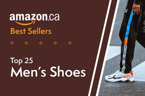 25 Best Selling Shoes for Men on Amazon