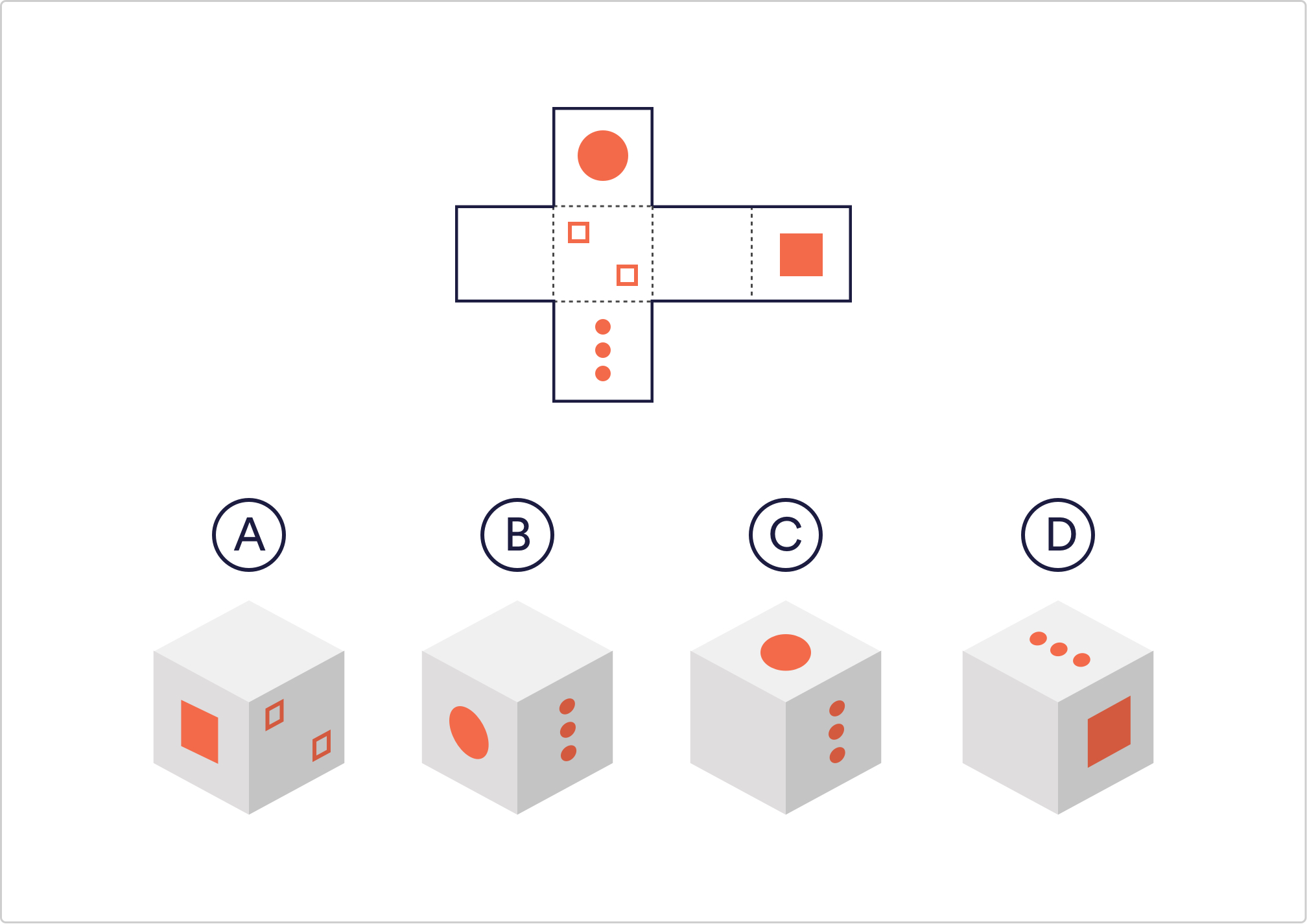 free spatial reasoning test questions and answers