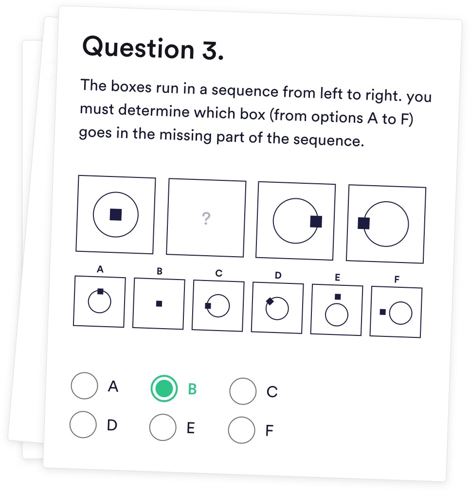 Diagrammatic Reasoning Tests For 2019