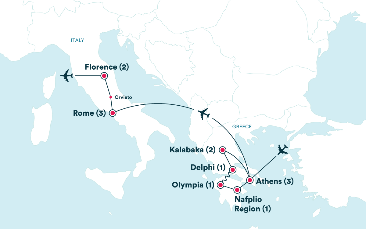 Travel To Italy And Greece