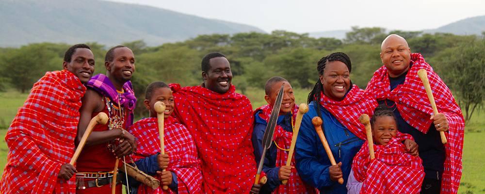 The West family in Kenya.