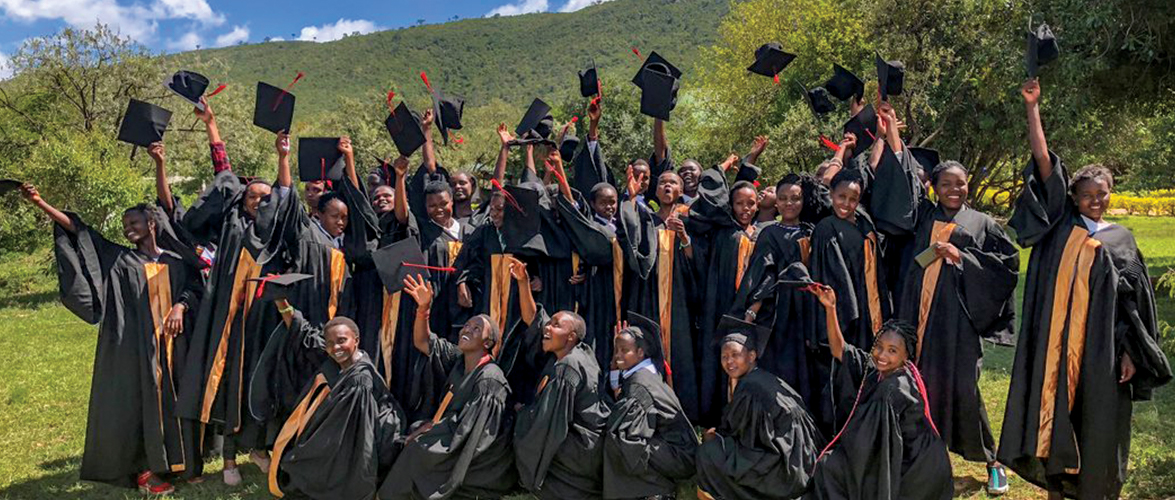 Graduates of Kisaruni Group of Schools in Kenya