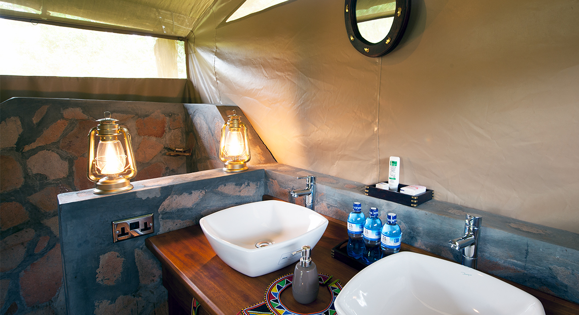 Luxurious bathroom facilities