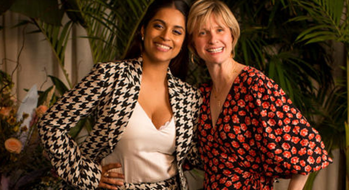 Roxanne Joyal and Lilly Singh