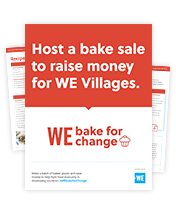 WE Bake For Change campaign resources