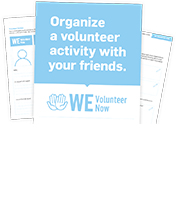 WE Volunteer Now Campaign Resources
