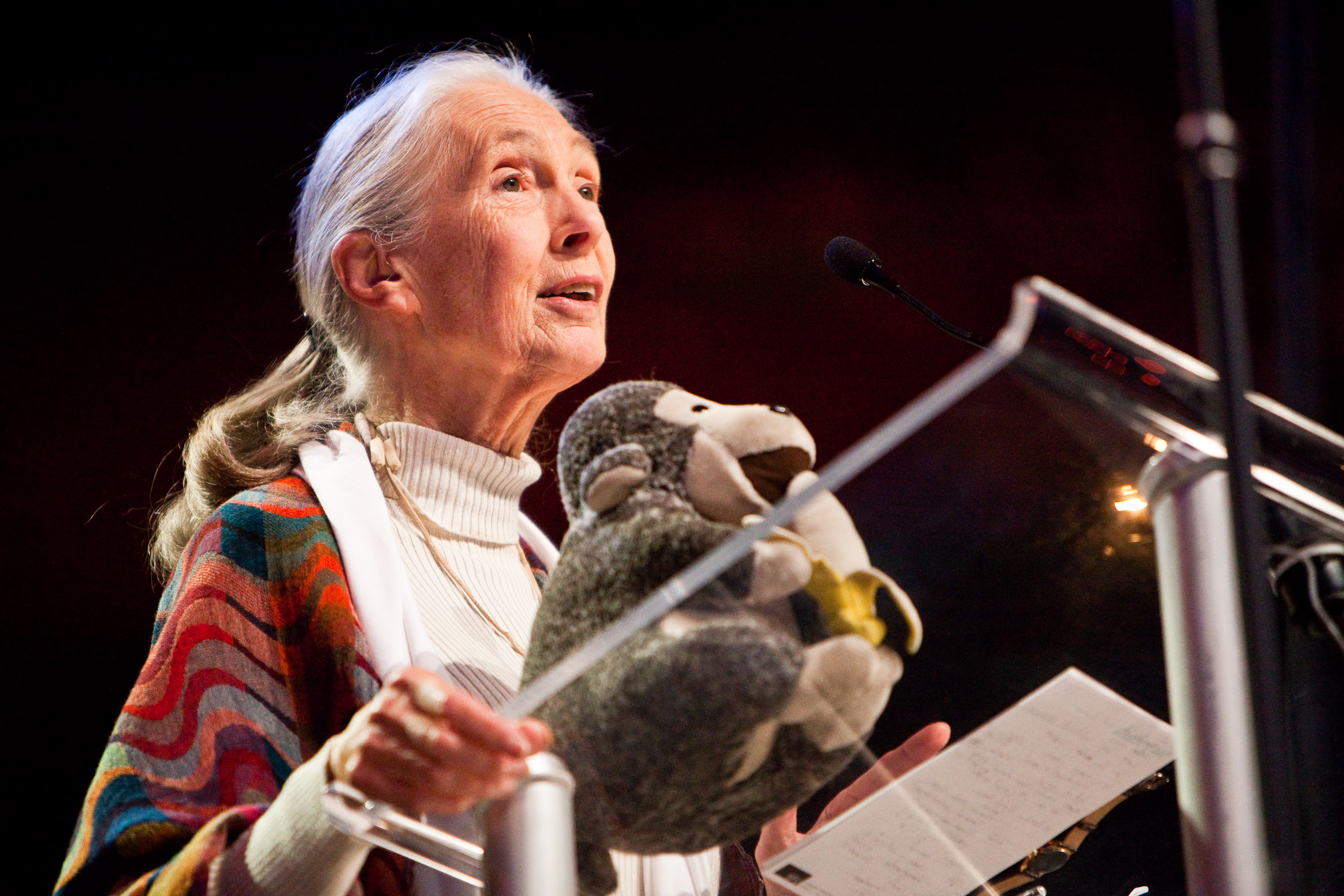 Jane Goodall at WE Day