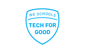 WE Schools Tech for Good badge