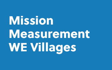 Mission Measurement - WE Villages
