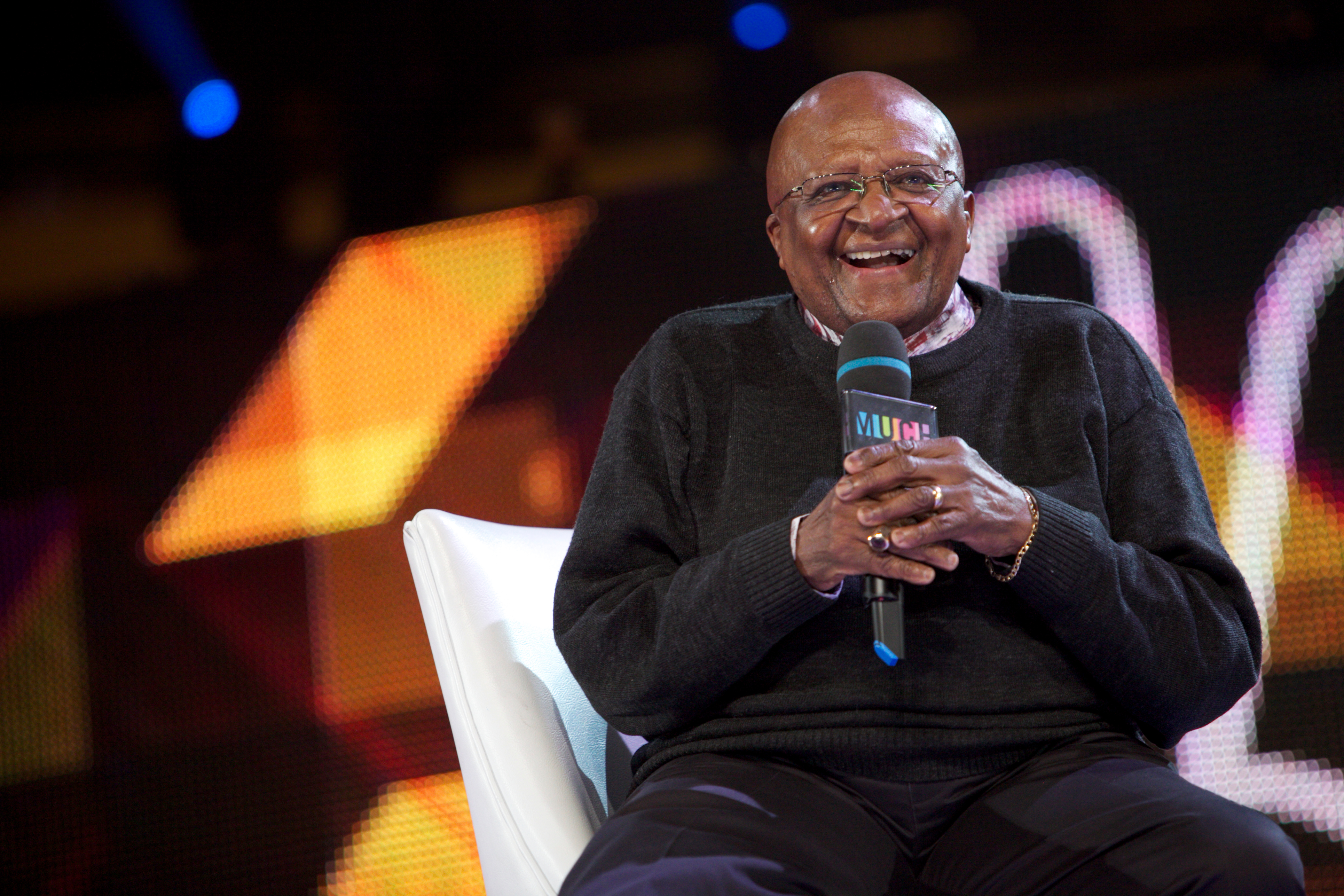 Desmond Tutu at WE Day