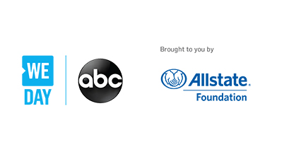 WE Day Broadcast brought to you by Allstate foundation