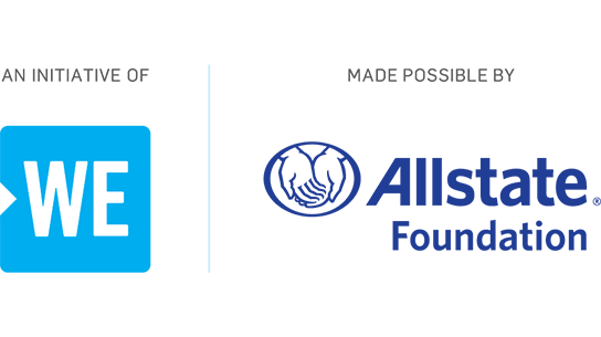 An initiative of WE | Made possible by Allstate Foundation