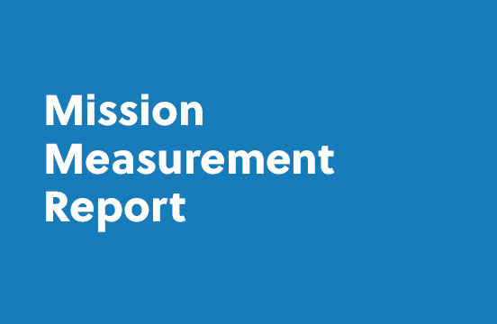 Mission Measurement Report