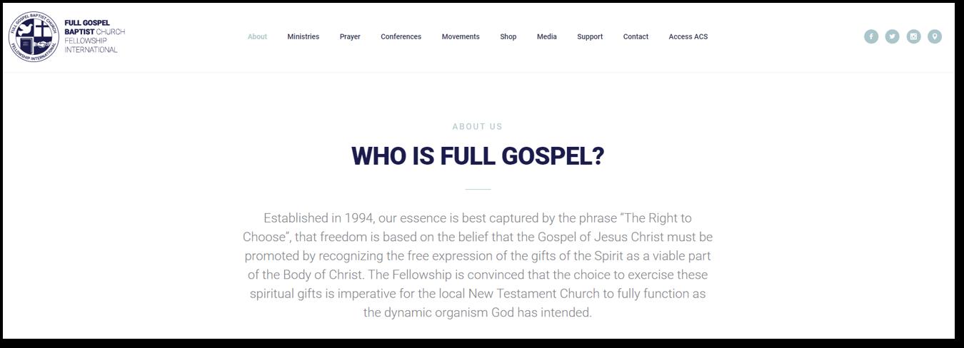 Full Gospel site Zix phishing final