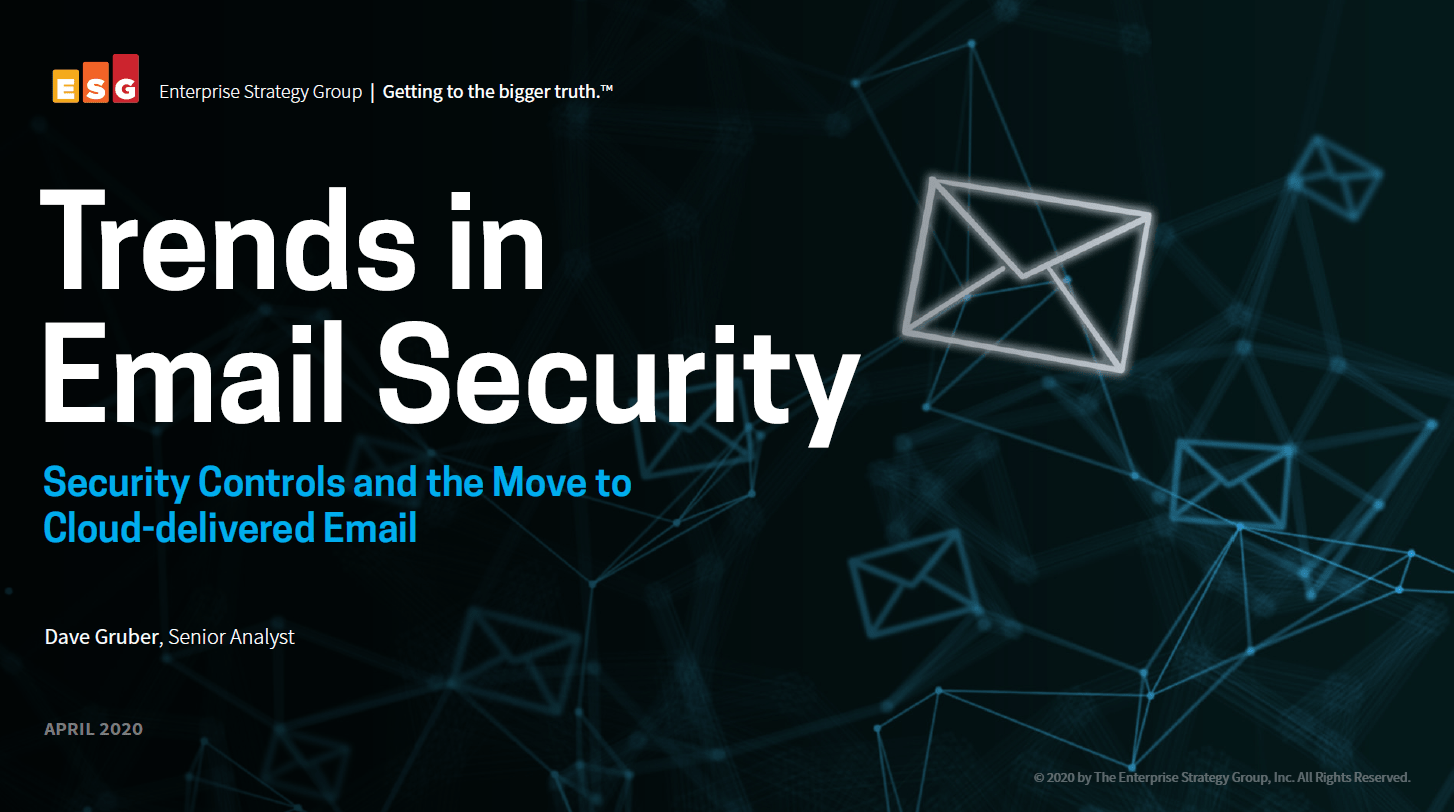 ESG EBook: Trends in Email Security