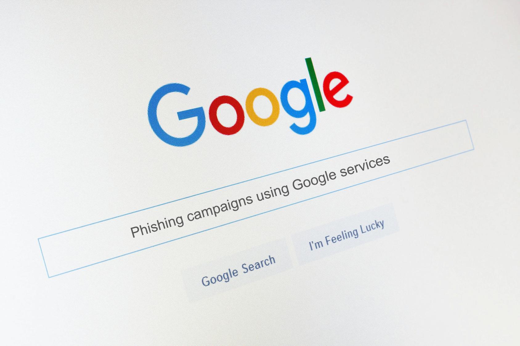 OK Google, Build Me a Phishing Campaign