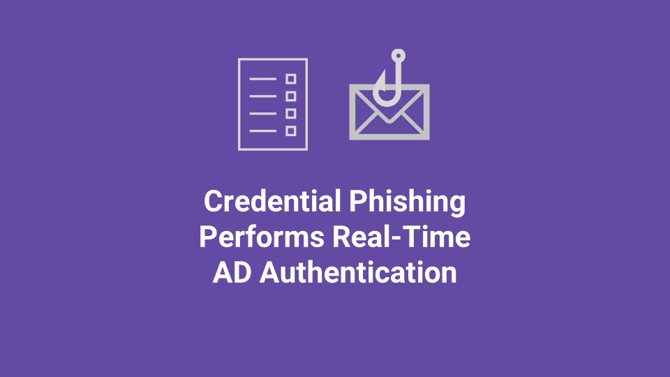 Blox Tales #15: Credential Phishing Attack Performs Real-Time Active Directory Authentication