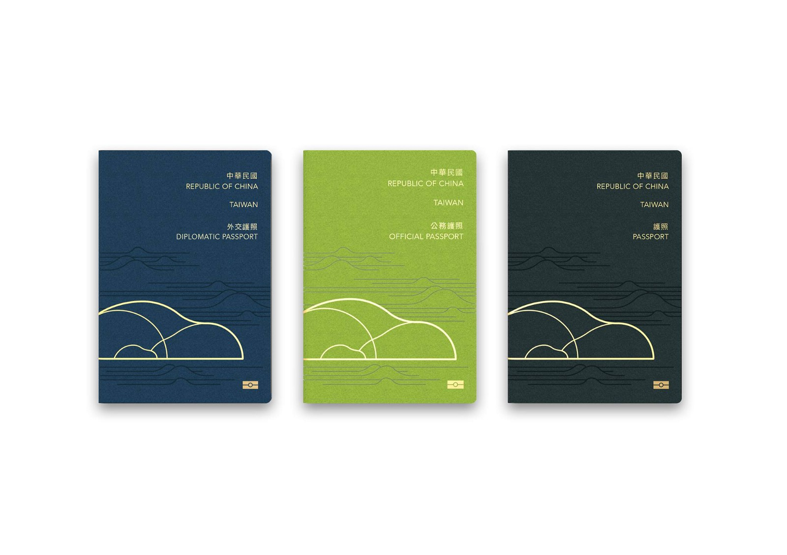 Taiwan ReDesign: Passport
